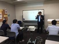 【スポーツビジネス】大阪校にて第二回目の講義が終了しました