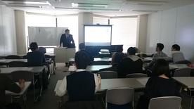 【スポーツビジネス(マネジメント)セミナー】永井氏によるセミナーを実施しました