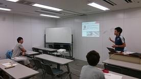 【スポーツマネジメント】セレッソ大阪フロントスタッフによる講義!