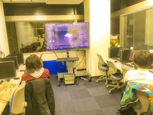 【札幌校】3DCG講座開講しております!