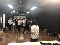新宿夜間週末講座★本格化してきたプレレッスン3回目!演技でした!