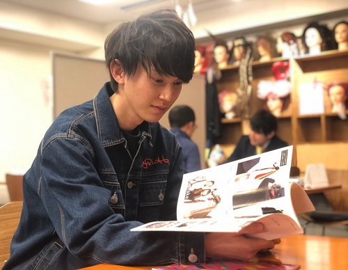 MODEL&TALENT WORK SHOP Student Interview!⑤