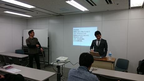 【スポーツビジネス1月生】大阪校にて第四回目の講義が終了しました。