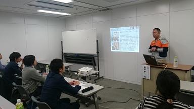 【スポーツマネジメントセミナー】堀込氏によるセミナーを実施しました