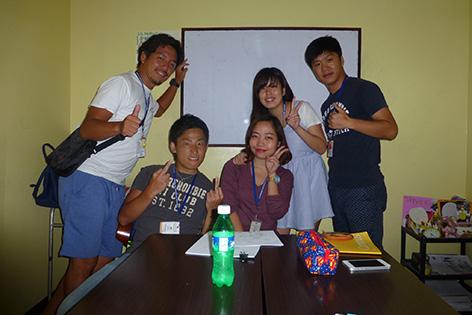 阿原速人さんの留学中の写真1